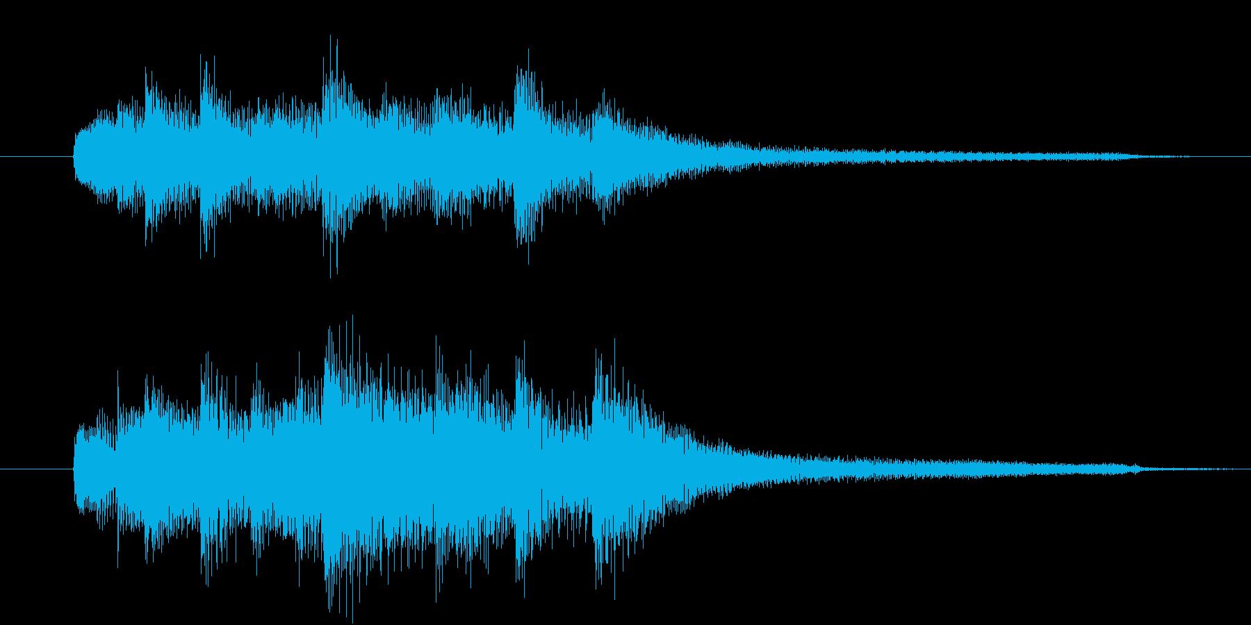 【生楽器】7拍子でクールでお洒落で……の再生済みの波形