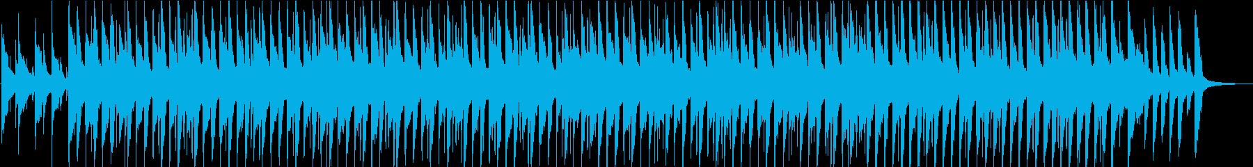 シンプル/明るい/楽しい/ポップ/ピアノの再生済みの波形