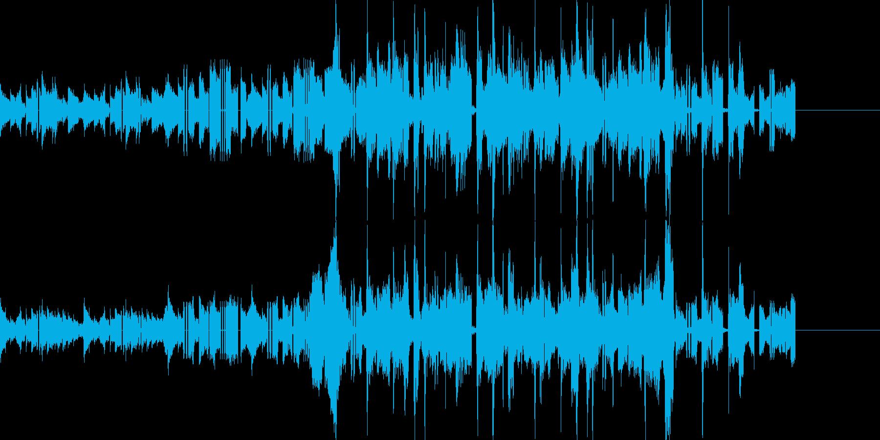 CMなどに おしゃれなアコギのBGMの再生済みの波形