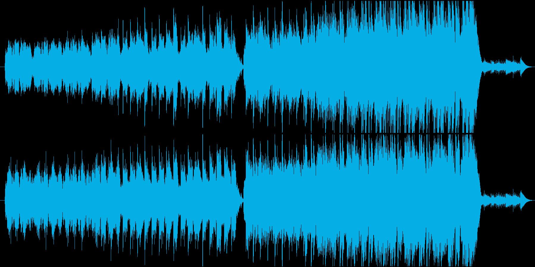 森の中 トトロをイメージして作成の再生済みの波形