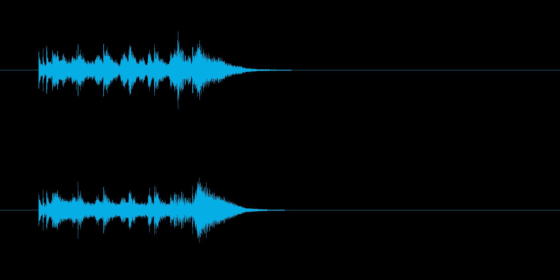 コミカル ジャズ ピアノ クール 大人の再生済みの波形