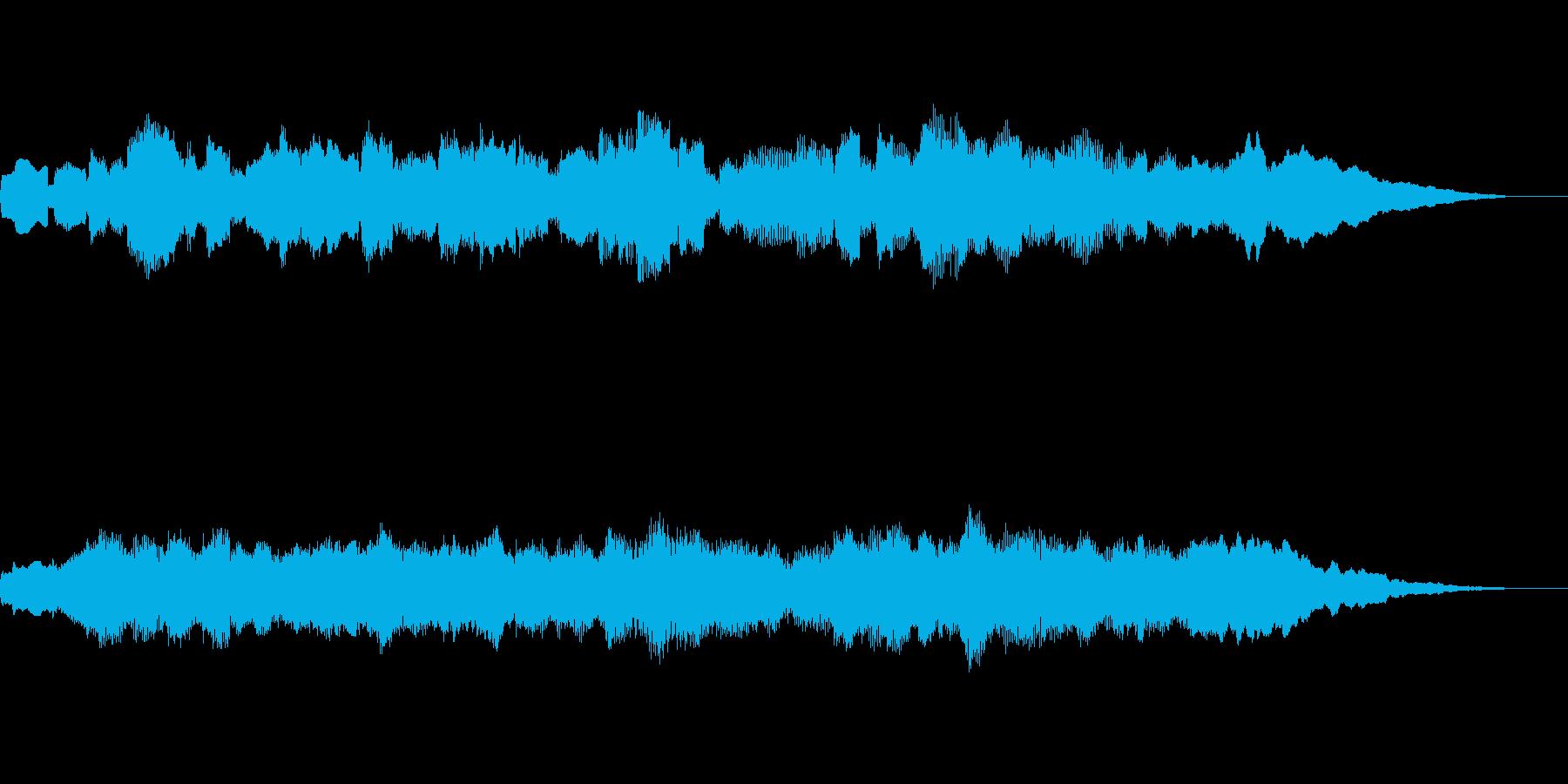 春を感じるBGMの再生済みの波形