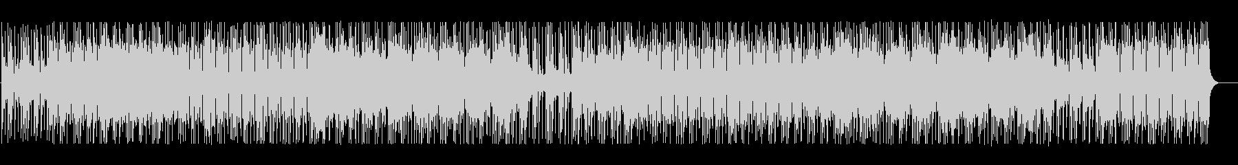 ミステリアスな雰囲気のテクノBGMの未再生の波形