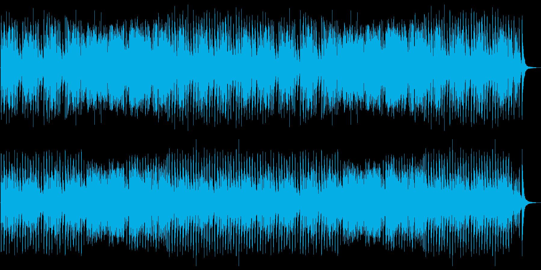 気品のあるクラシック調の楽曲の再生済みの波形