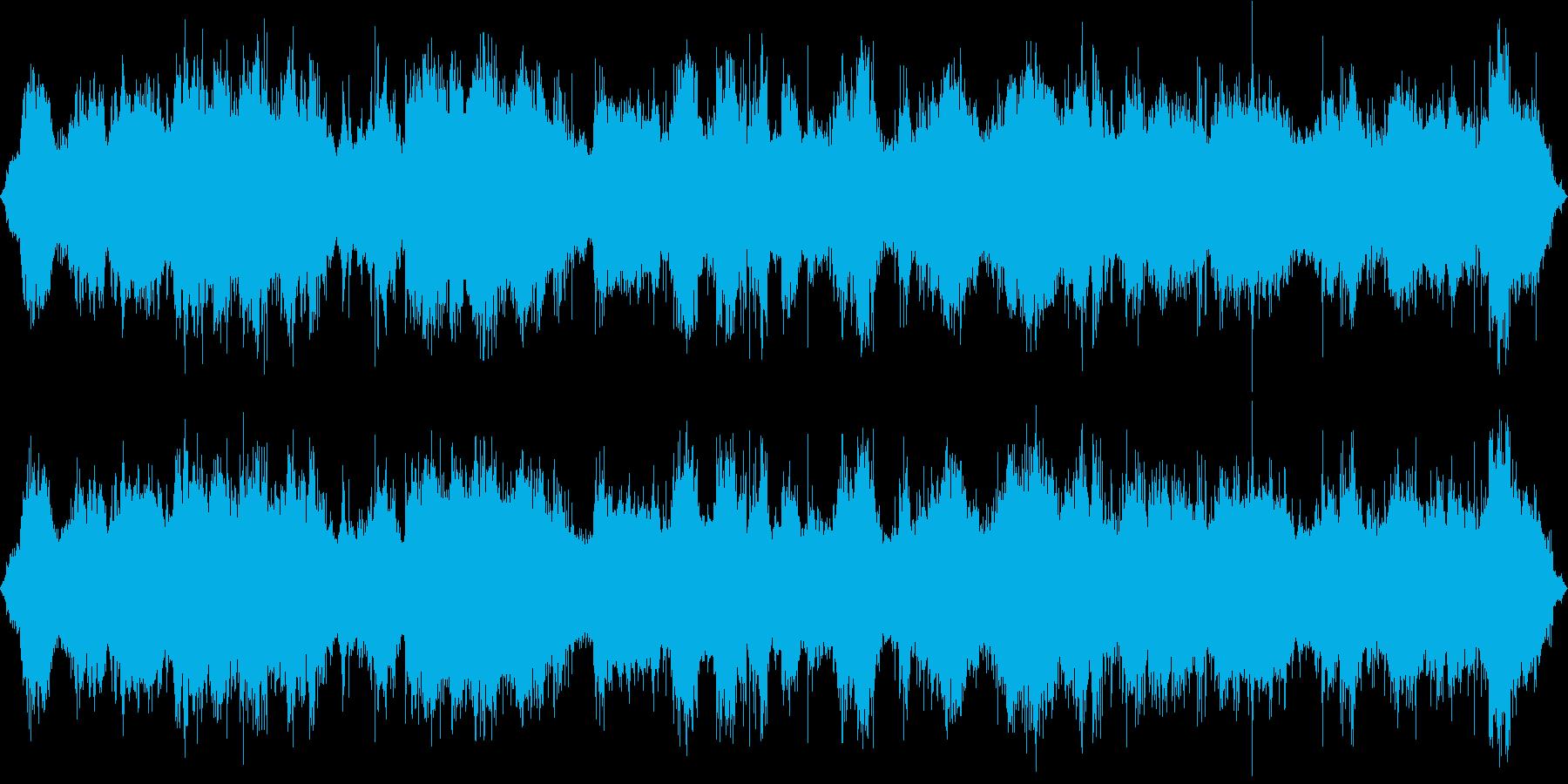 トランシーバーのノイズの再生済みの波形