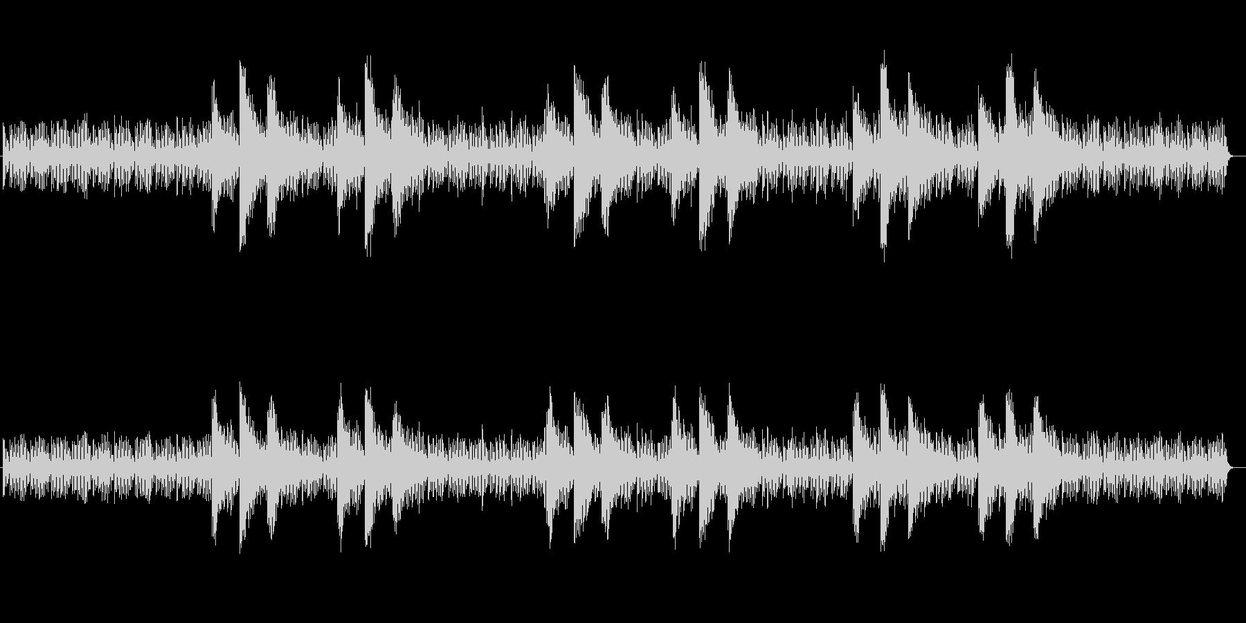 神秘的な印象シンセサイザーサウンドの未再生の波形