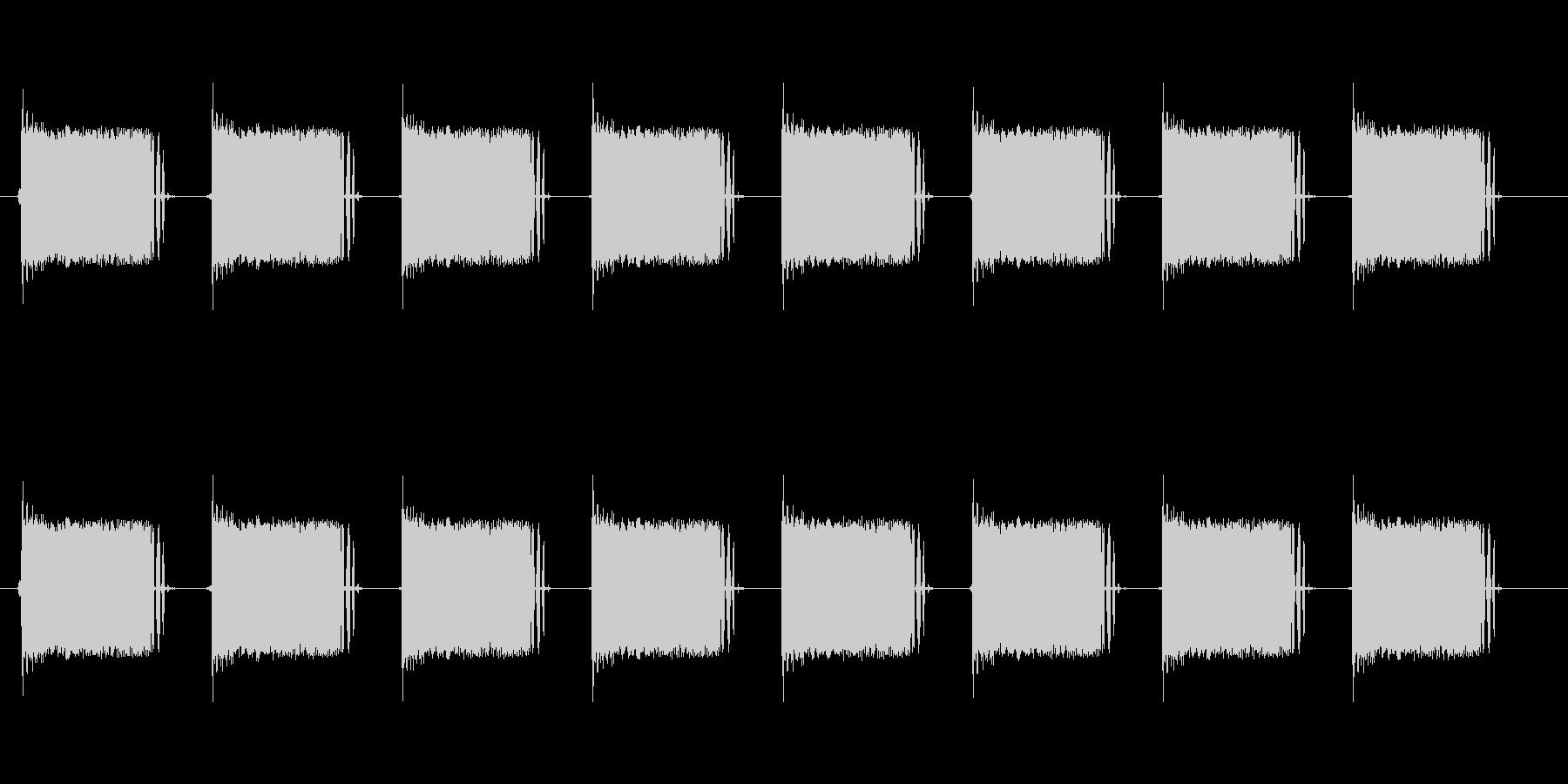 レトロ調な警報。ループ可能。の未再生の波形