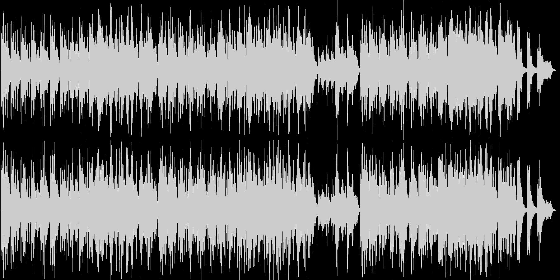 ゆったりしたシンセ・ピアノサウンドの未再生の波形