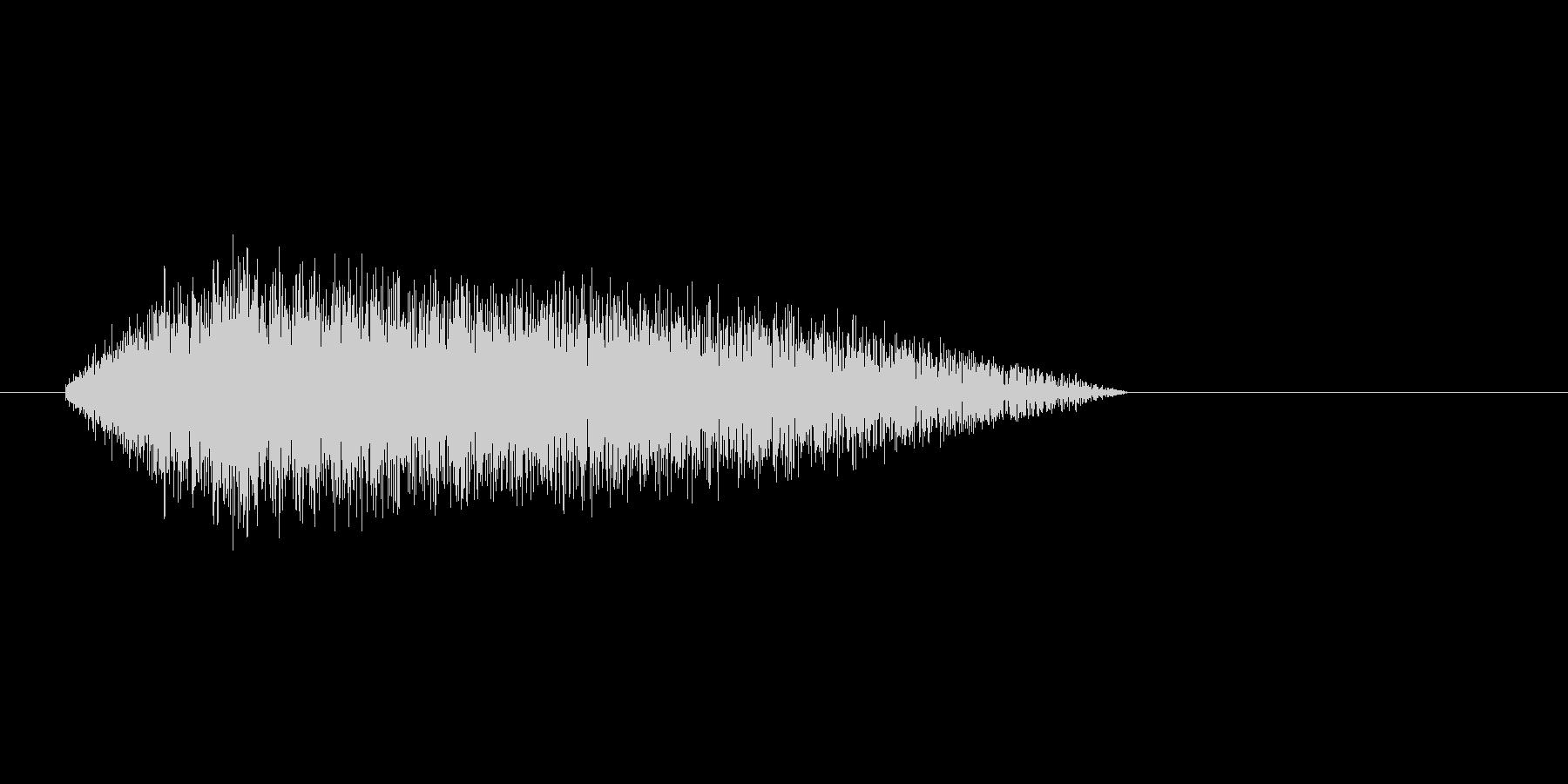 8bitの水音 ザプンの未再生の波形