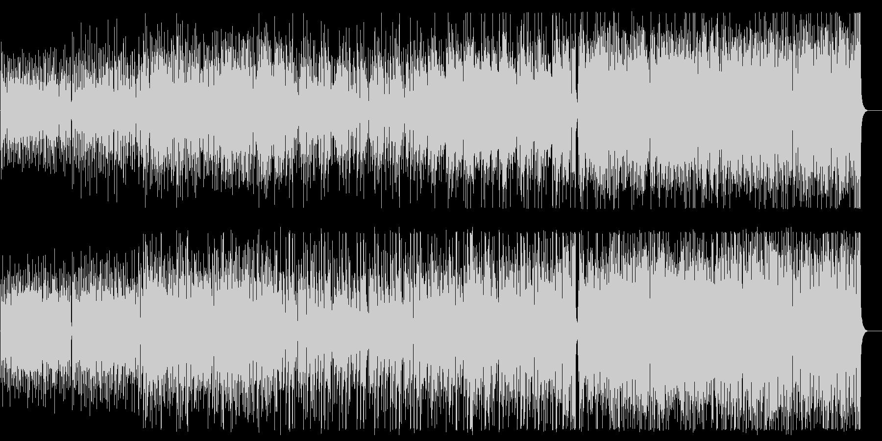 華麗で優雅なジャズ風ピアノシンセBGMの未再生の波形