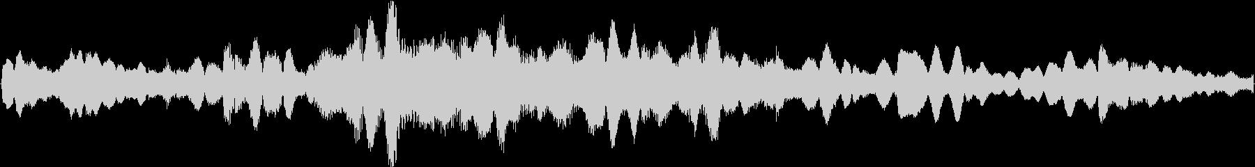 幻想的なおかつ空間的なイメージをした楽…の未再生の波形