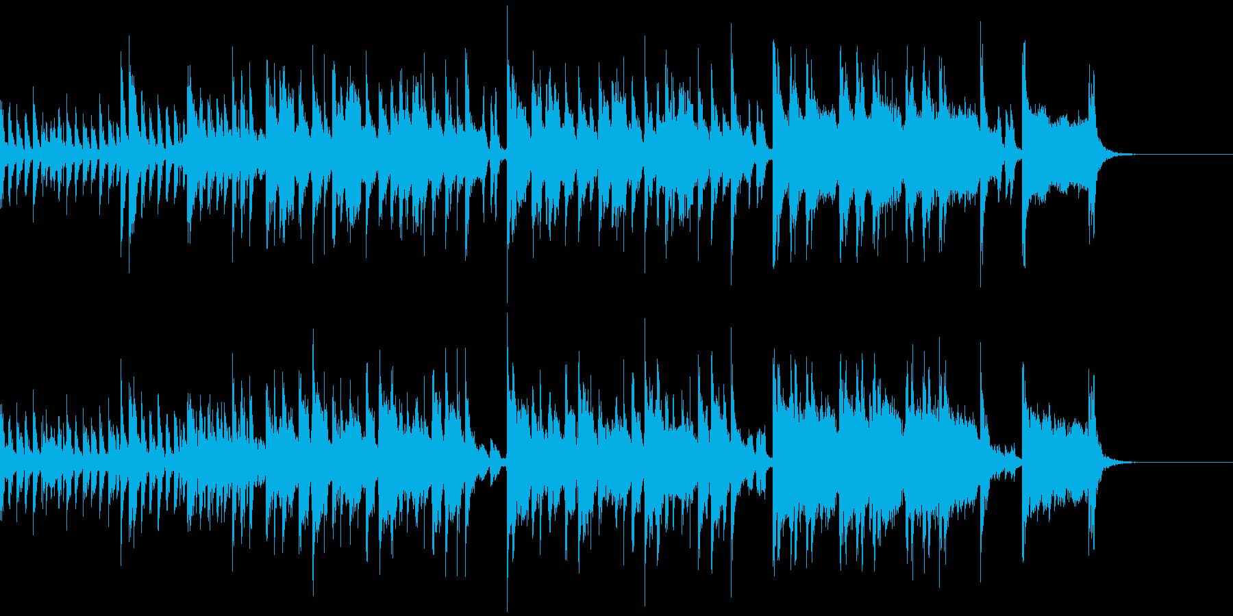 テーマソング系、スパイものチックなジャズの再生済みの波形