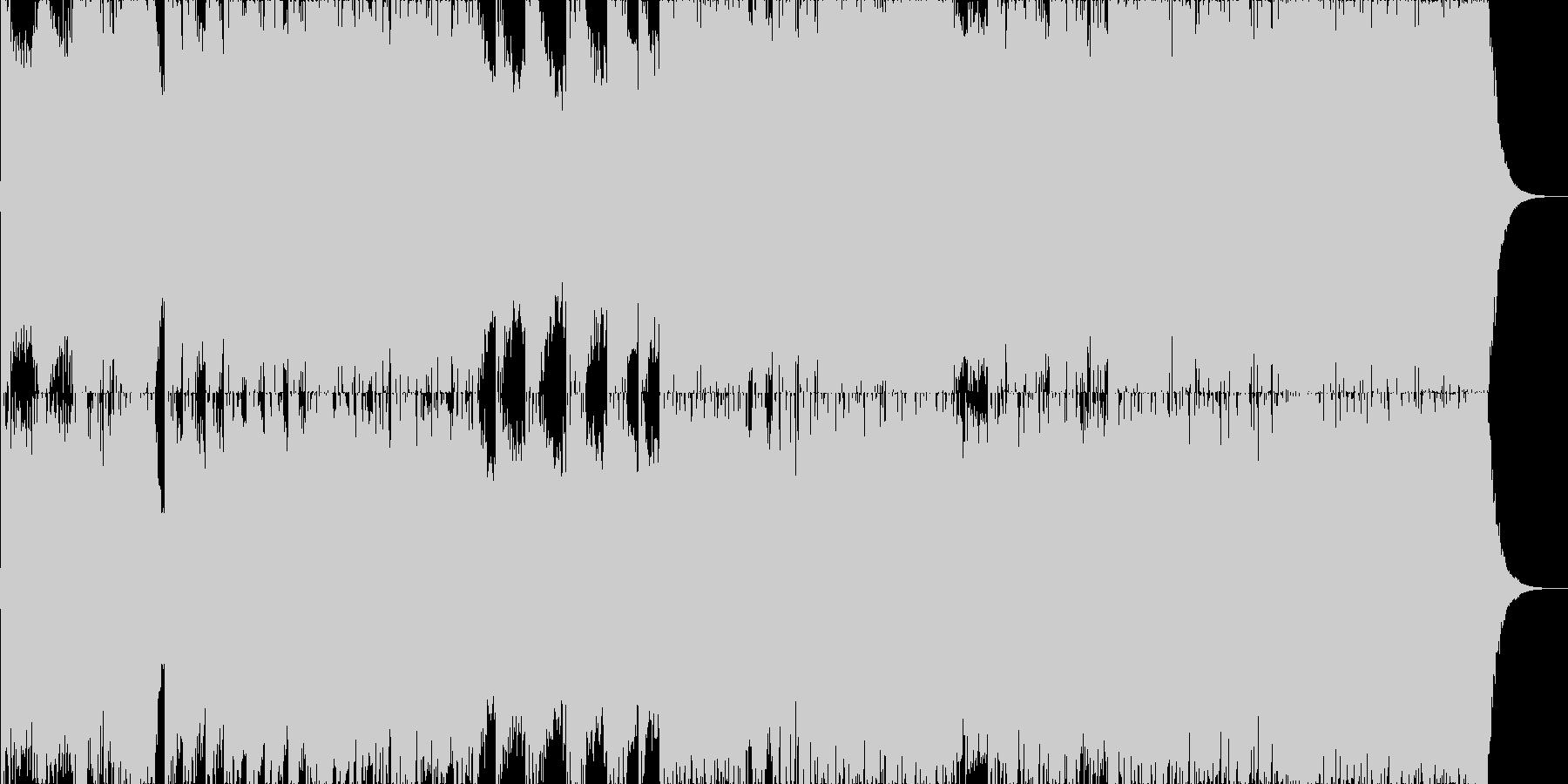 ダークファンタジーオーケストラ戦闘曲42の未再生の波形