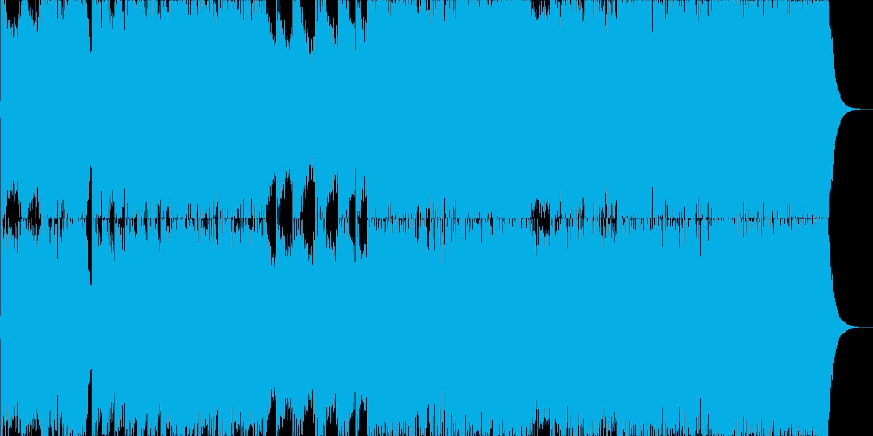 ダークファンタジーオーケストラ戦闘曲42の再生済みの波形