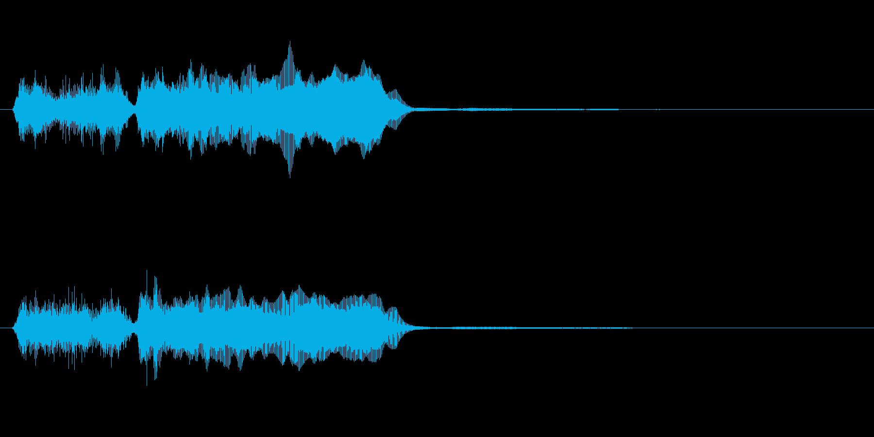 玩具系ファンファーレ-07の再生済みの波形