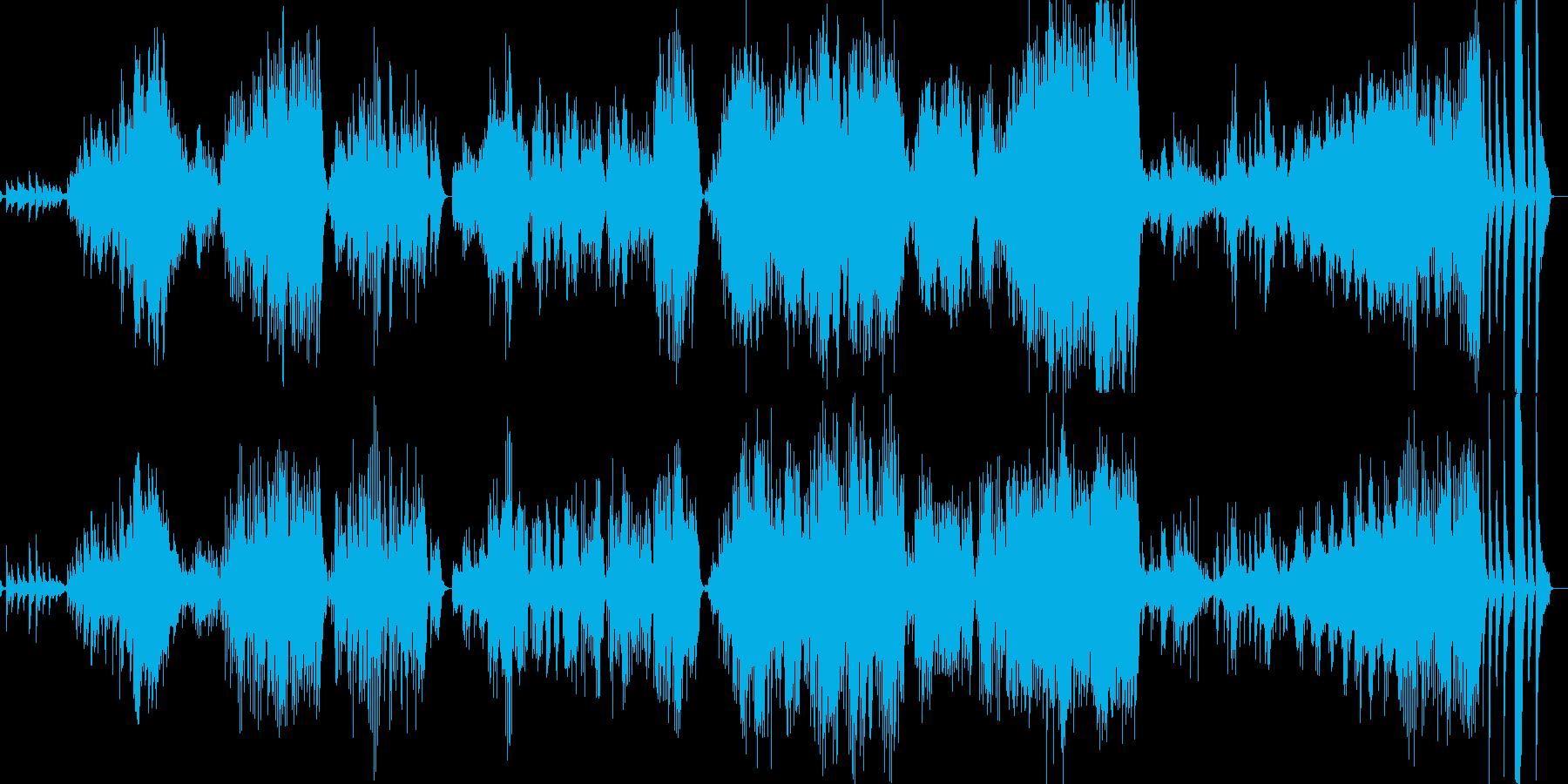打ち水舞えば、涼風踊るピアノ曲の再生済みの波形
