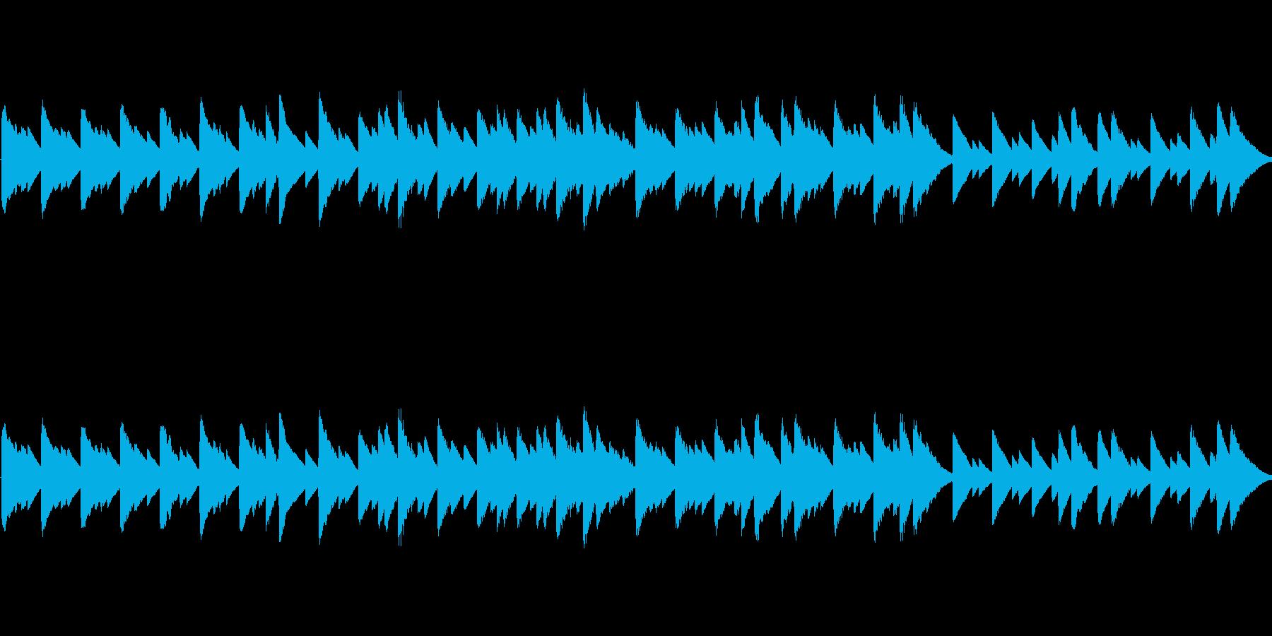 「聖母の御子」のオルゴールアレンジの再生済みの波形
