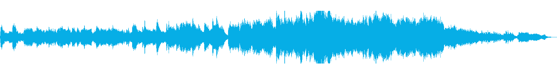 ゆったりと壮大なオーケストラサウンドの再生済みの波形