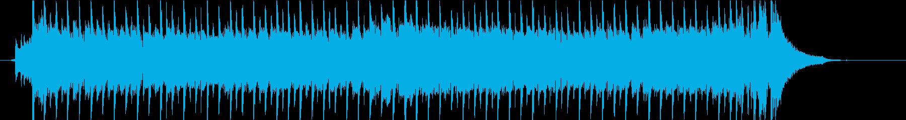 映像、OP,ED向けの和風EDMジングルの再生済みの波形