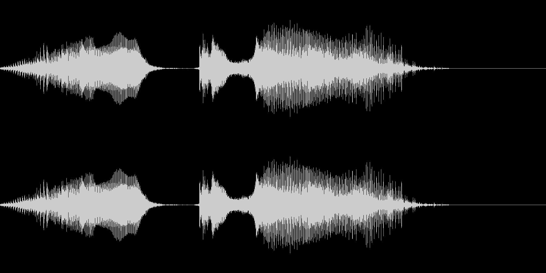いっくぜぇ!!02(クリティカル時)の未再生の波形