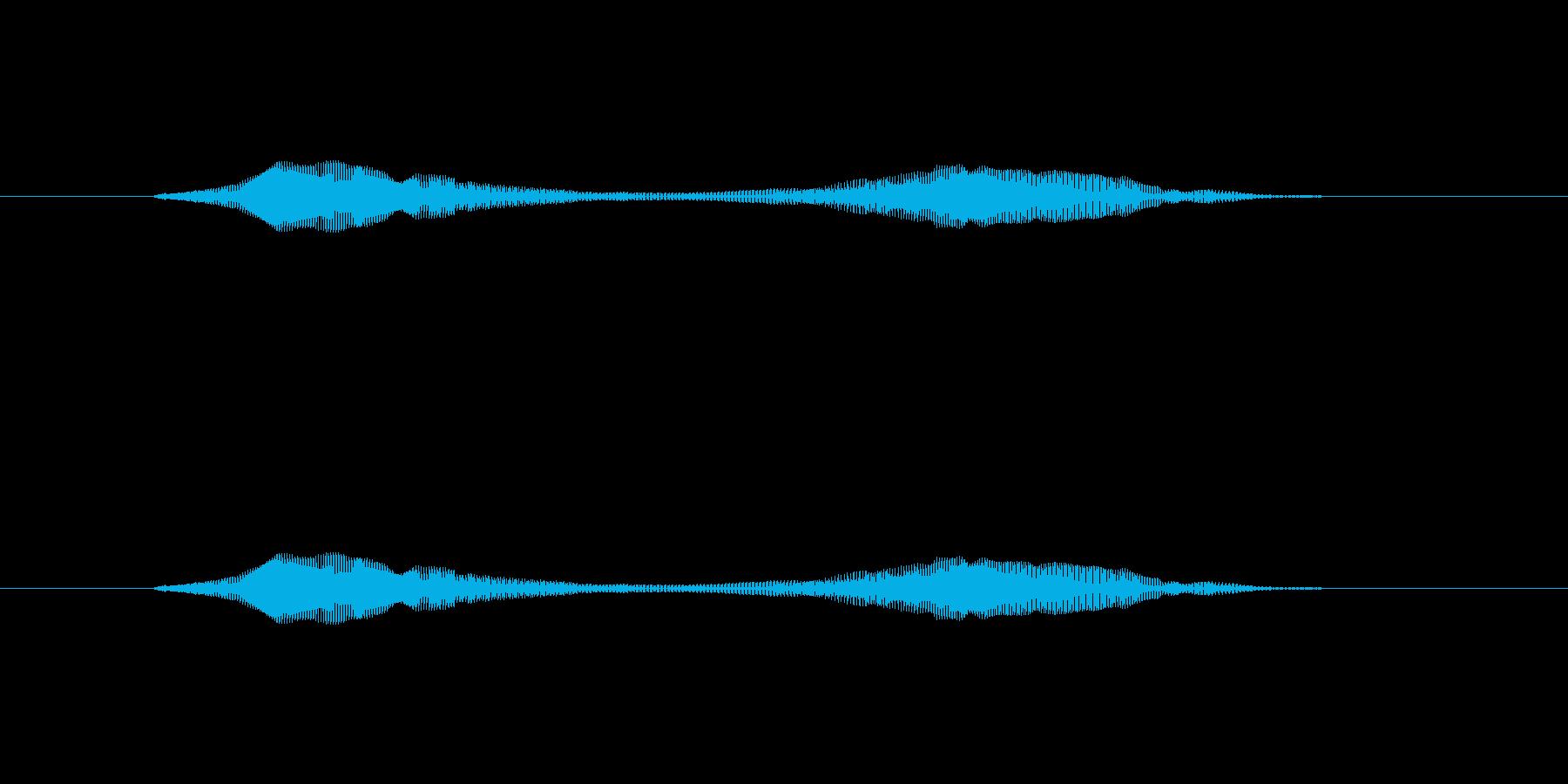 ニャー_猫声-25の再生済みの波形