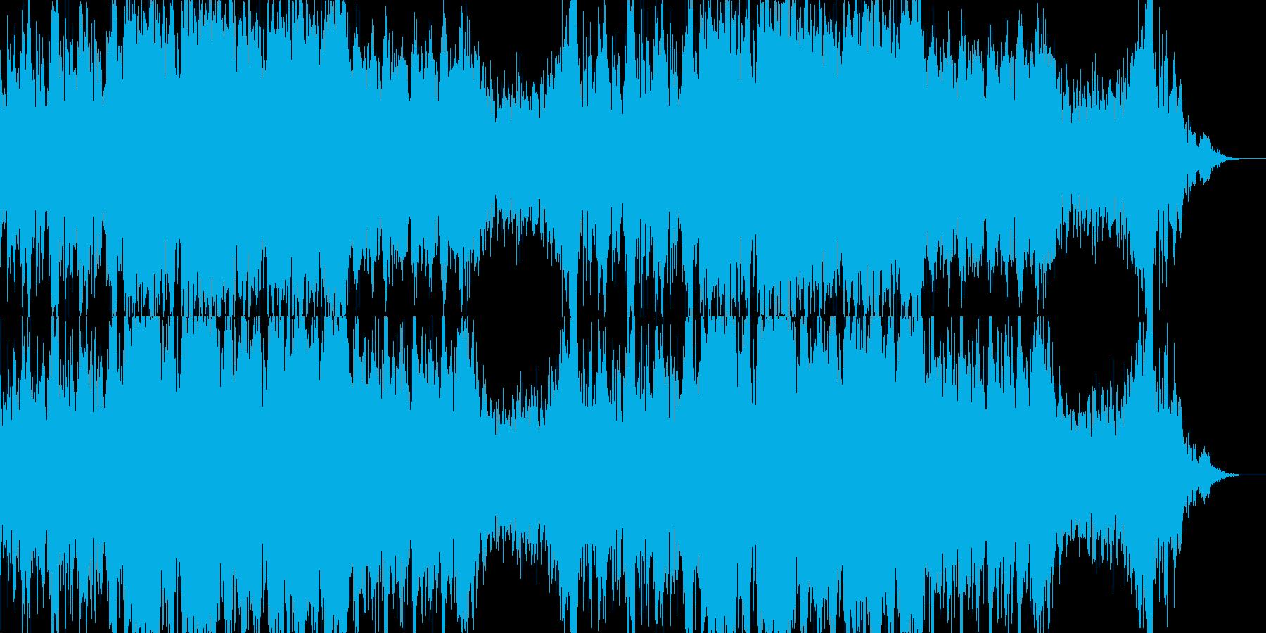 壮大なオーケストラソングの再生済みの波形