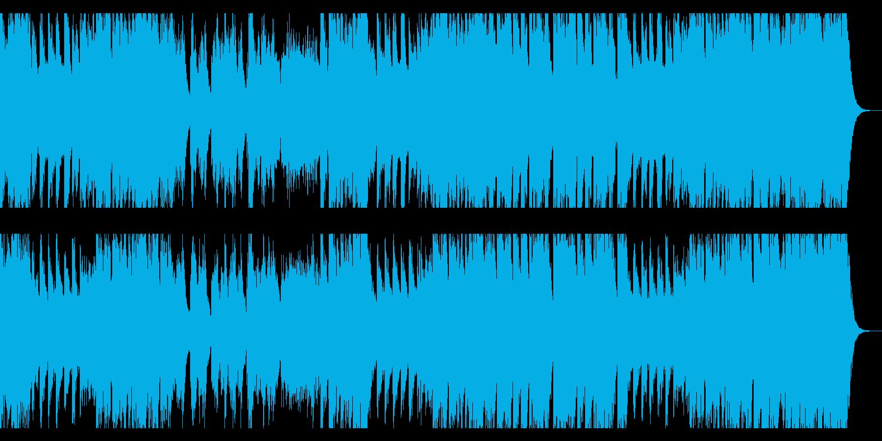 オーケストラ的シンセ音楽の再生済みの波形