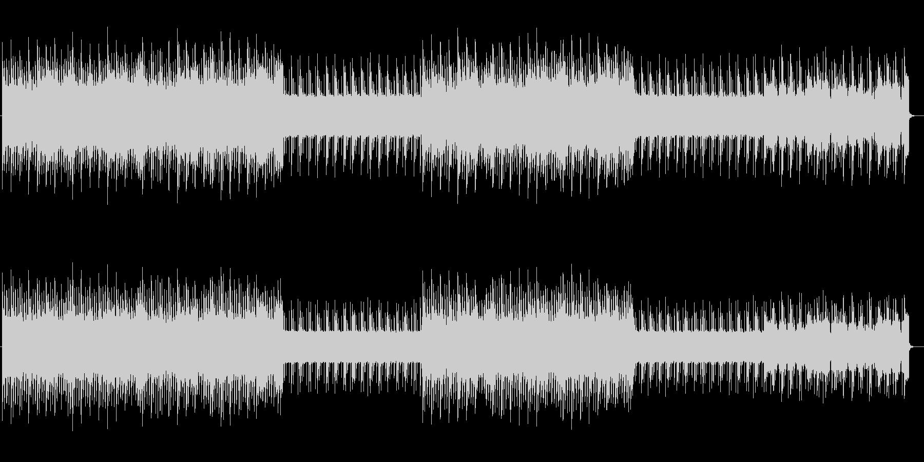 不思議なピアノが魅力的なポップ曲の未再生の波形