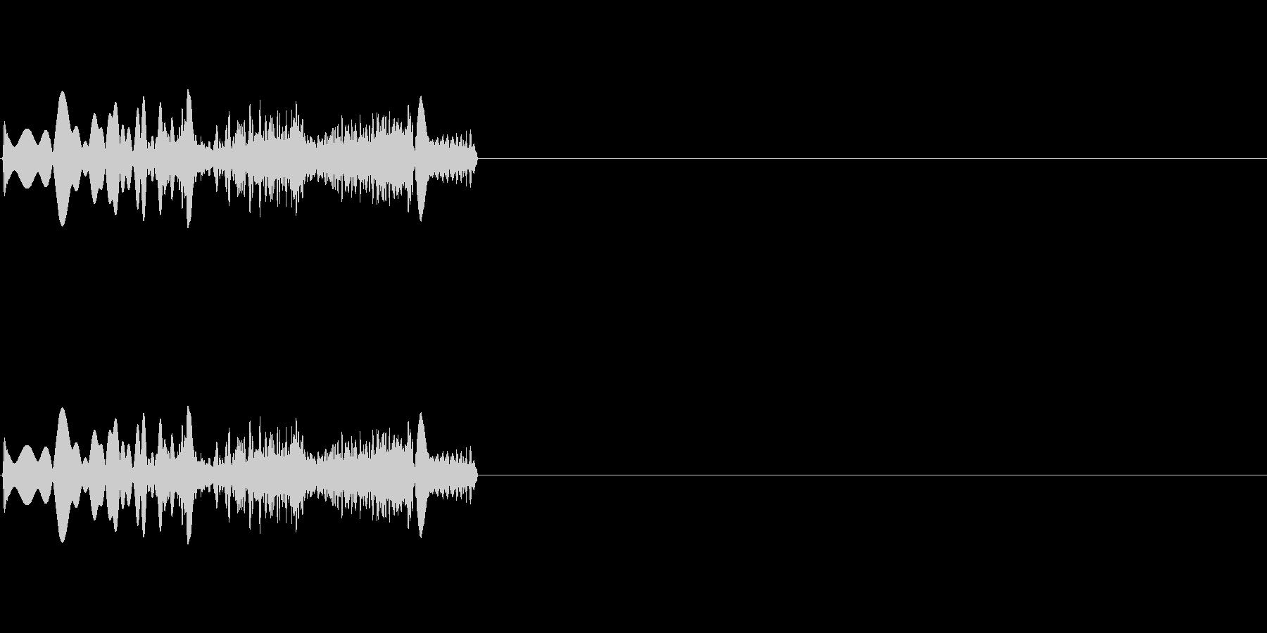 ヒュイーン(起動音 未来的)の未再生の波形