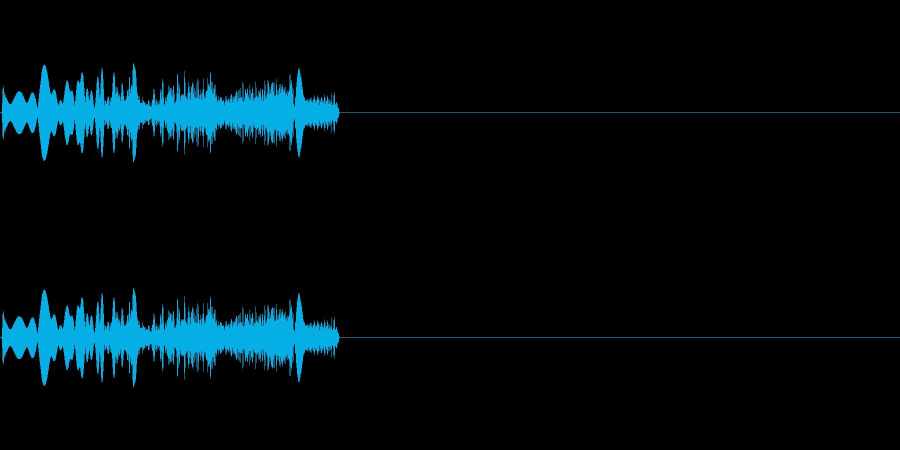 ヒュイーン(起動音 未来的)の再生済みの波形