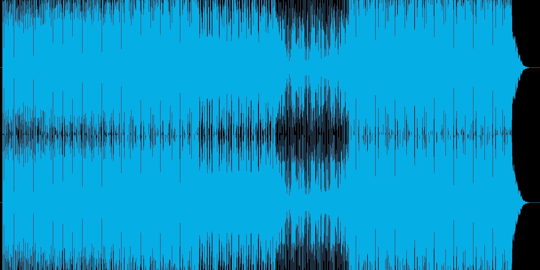 ノリノリなEDMテクノの再生済みの波形