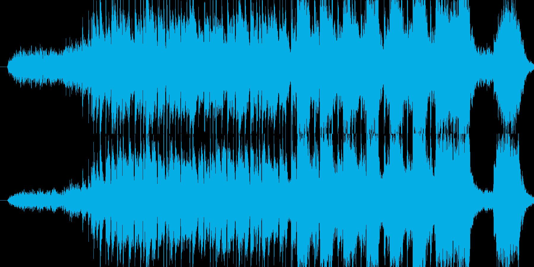 ・予告映像に合わせた楽曲として作りまし…の再生済みの波形