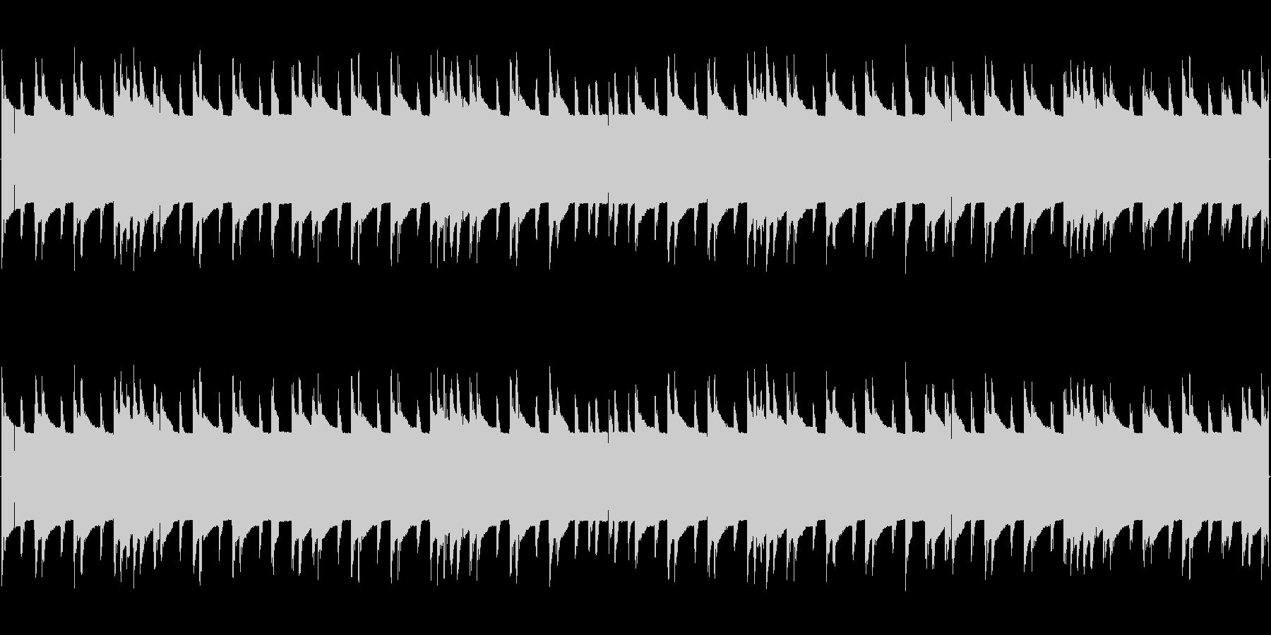 チップチューンの短いジャズループ2の未再生の波形
