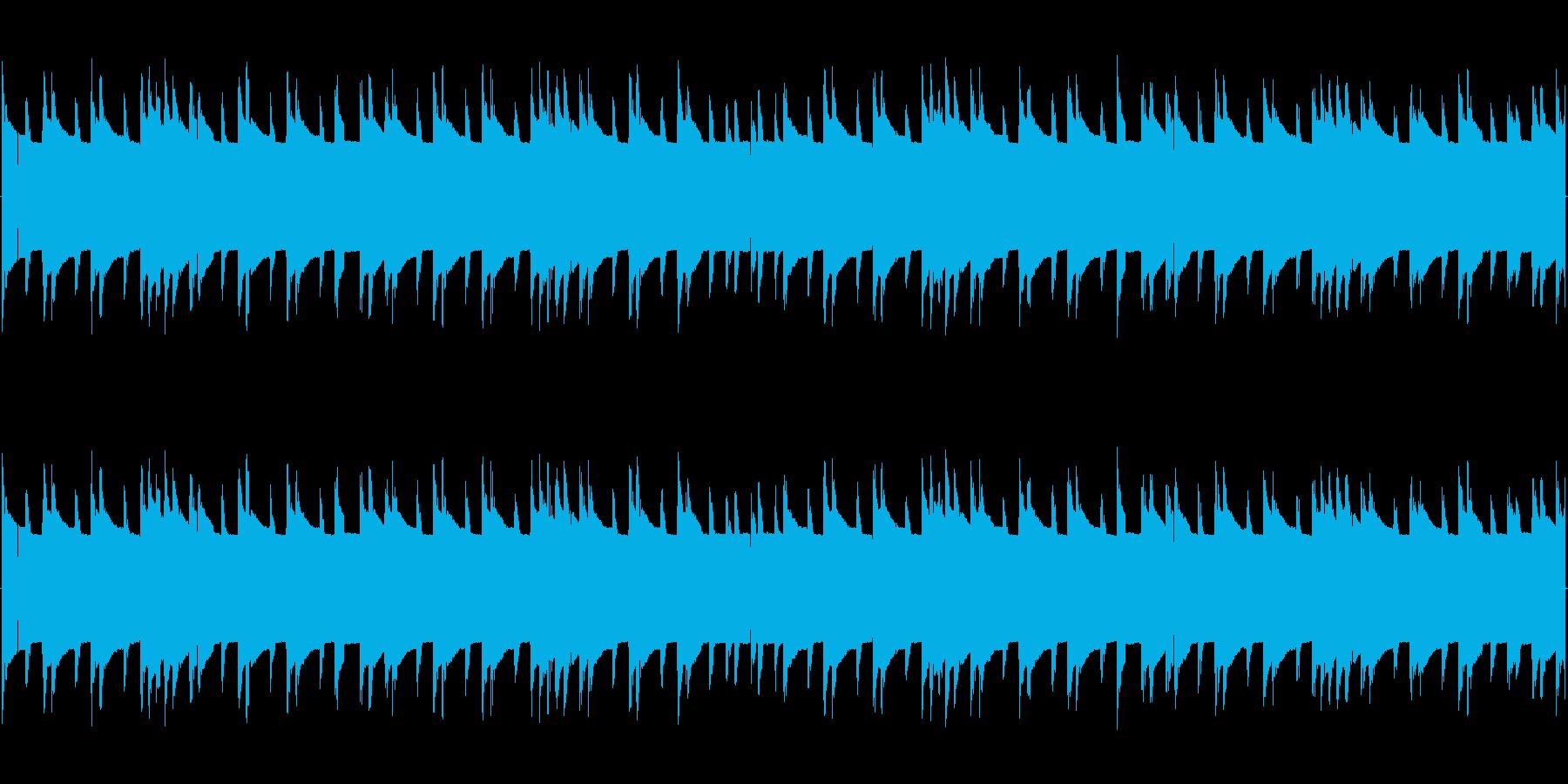 チップチューンの短いジャズループ2の再生済みの波形