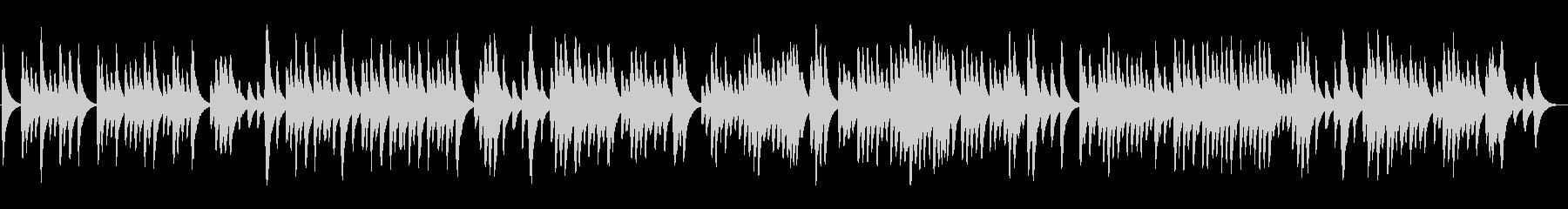 ラヴェル「亡き王女の…」のオルゴールの未再生の波形