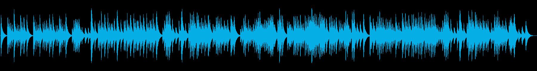 ラヴェル「亡き王女の…」のオルゴールの再生済みの波形