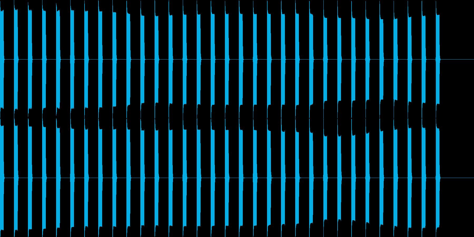 ピッピッピッ(心電図、電子音)の再生済みの波形