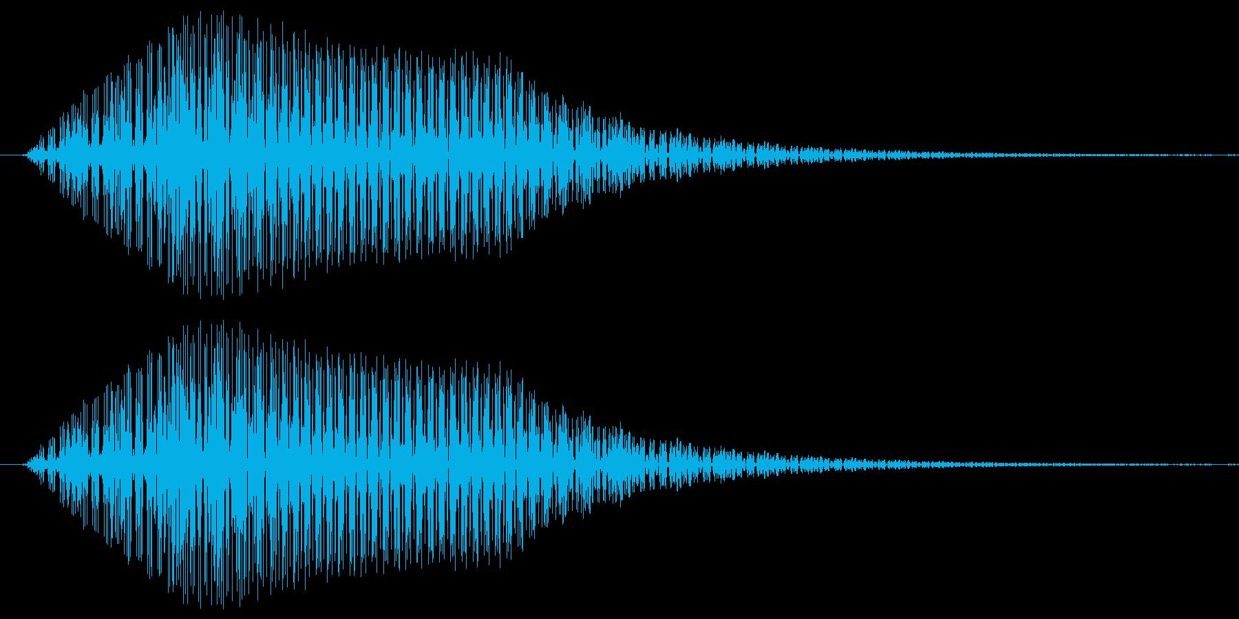 グイン。ロボット・機械動作音(短め)の再生済みの波形