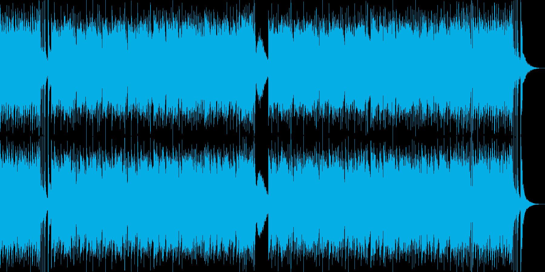 和風 歴史ゲーム アプリ テーマソングの再生済みの波形