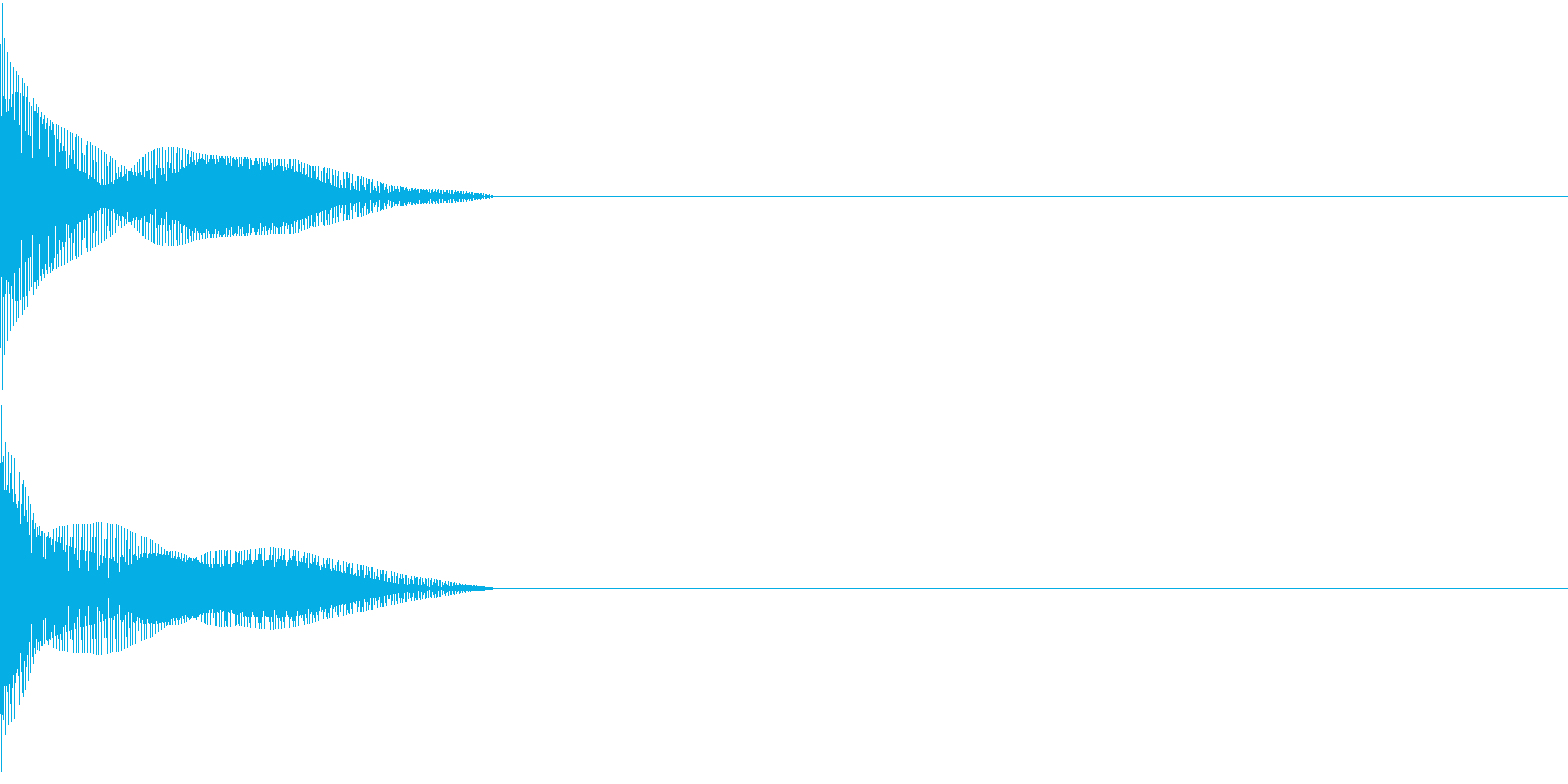 Cursor セレクト・カーソルの音5の再生済みの波形