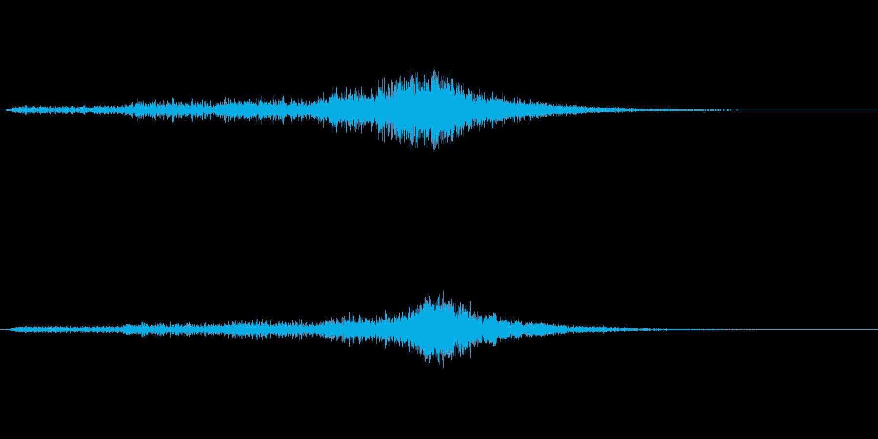 オーケストラで奏でる少し怪しげなジングルの再生済みの波形