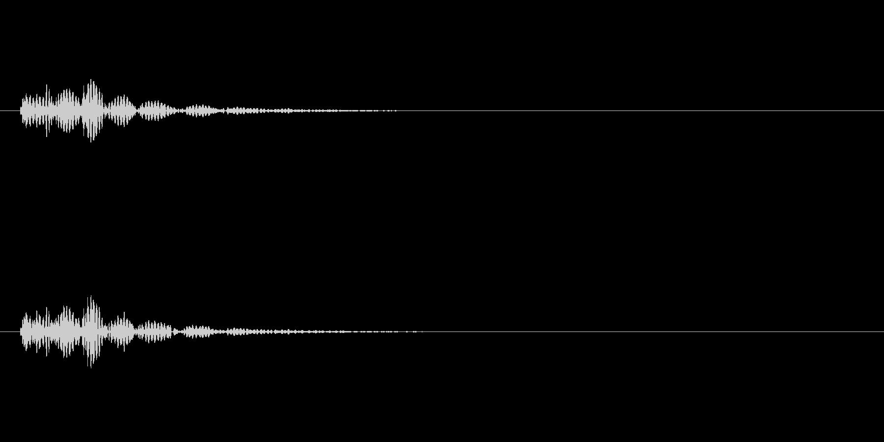 キャンセル 和風05の未再生の波形