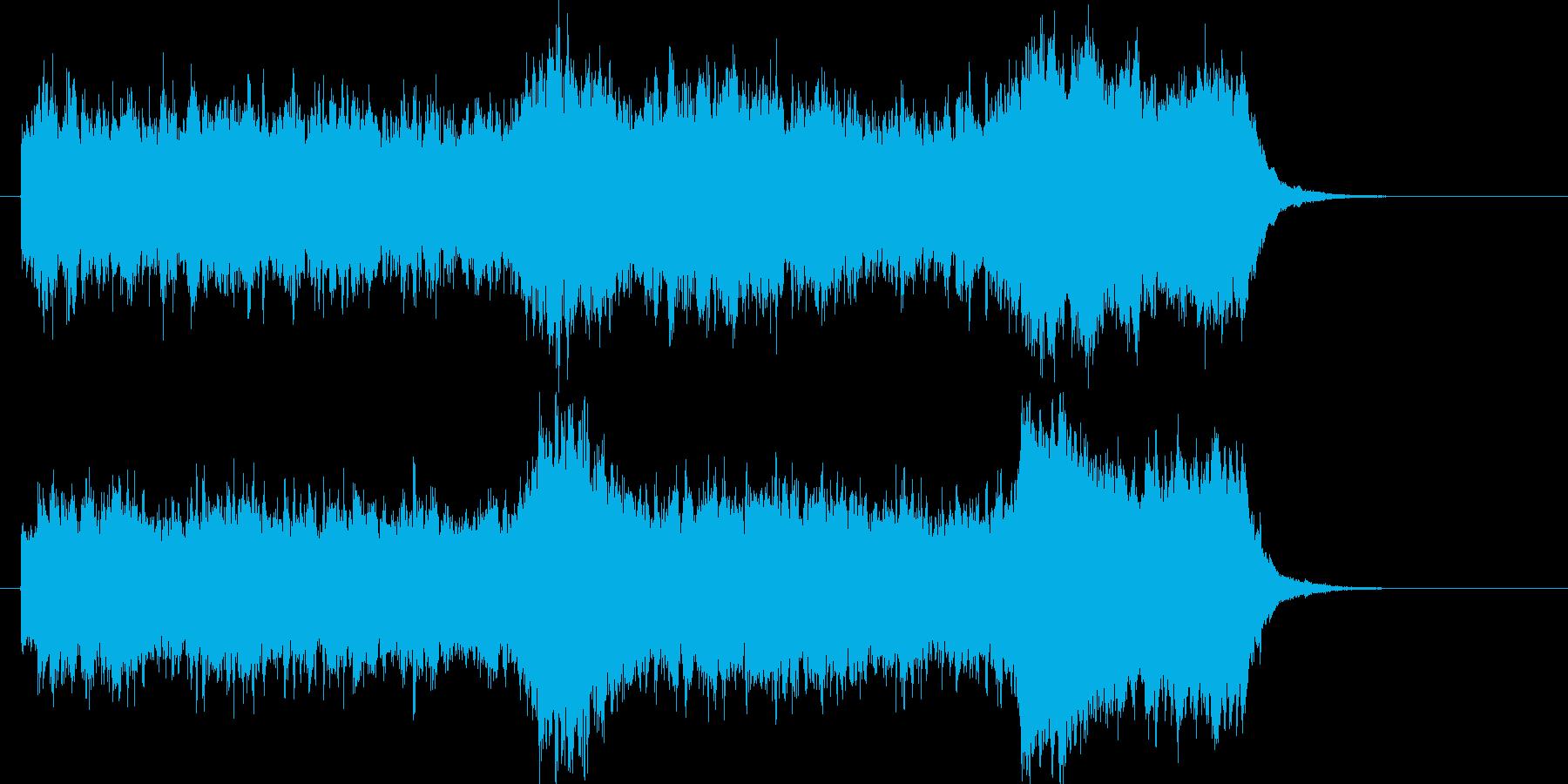 バグパイプ重厚オープニングサウンドの再生済みの波形