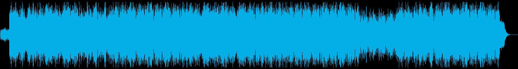 優しく美しいシンセサウンドの再生済みの波形
