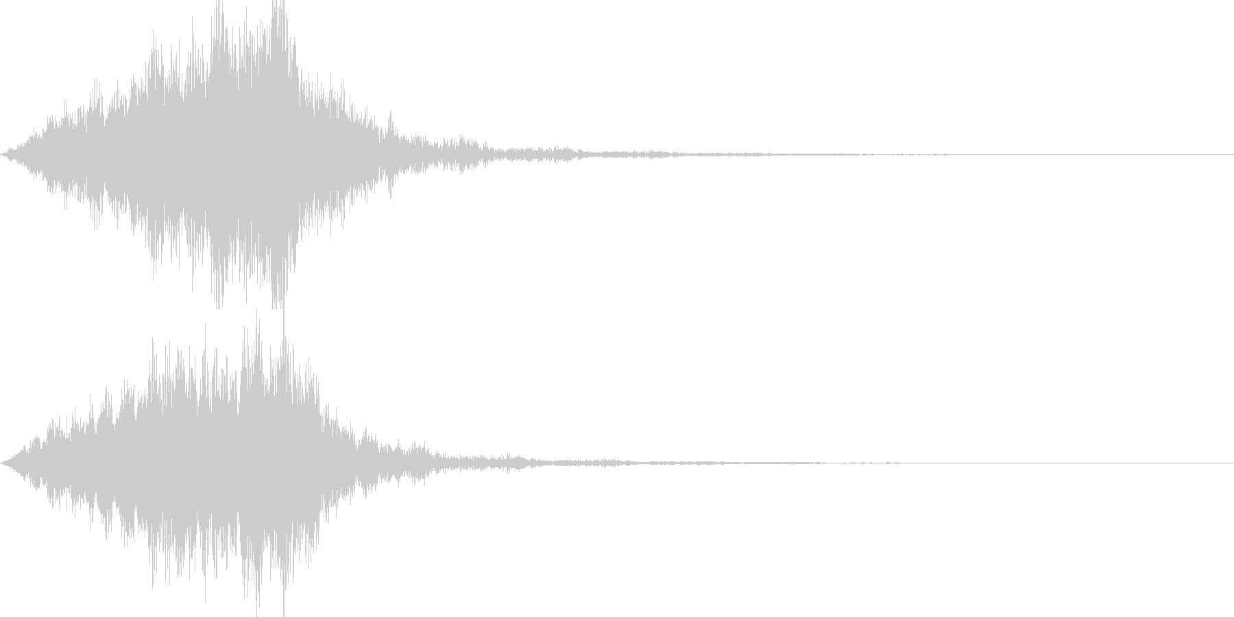 不思議な音04の未再生の波形