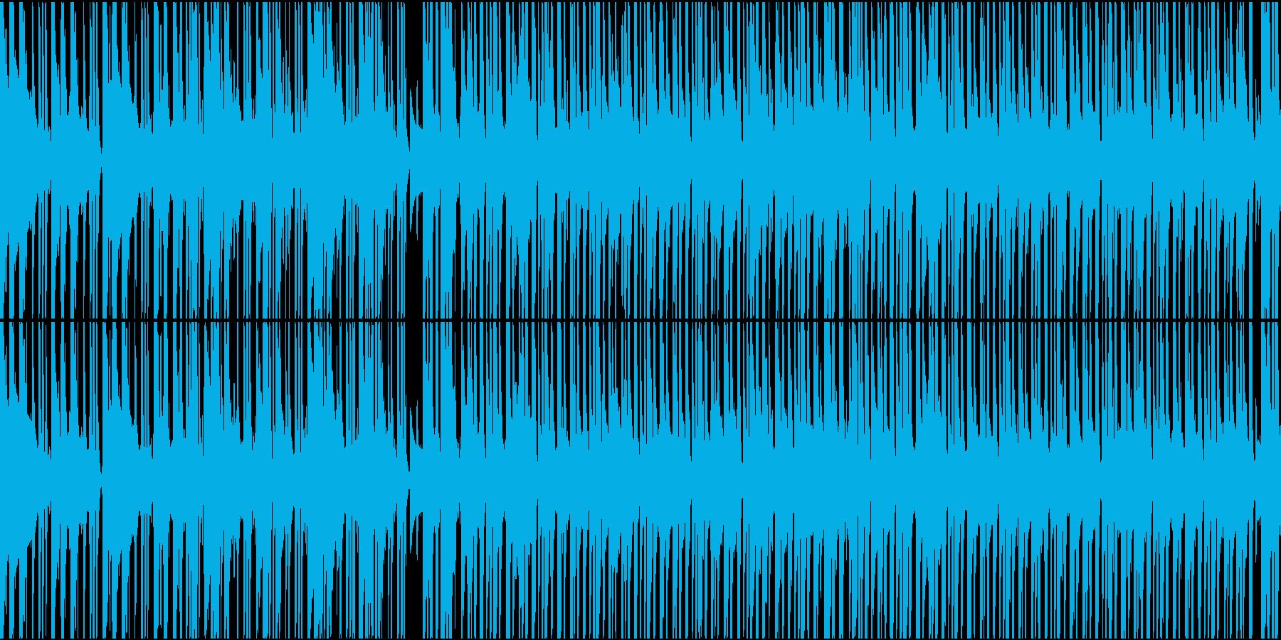 ゆったりアコースティックブレイクビーツの再生済みの波形