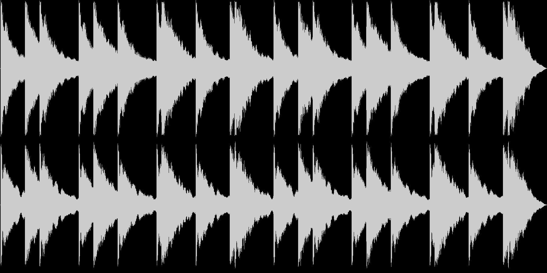 カーンカーンの未再生の波形