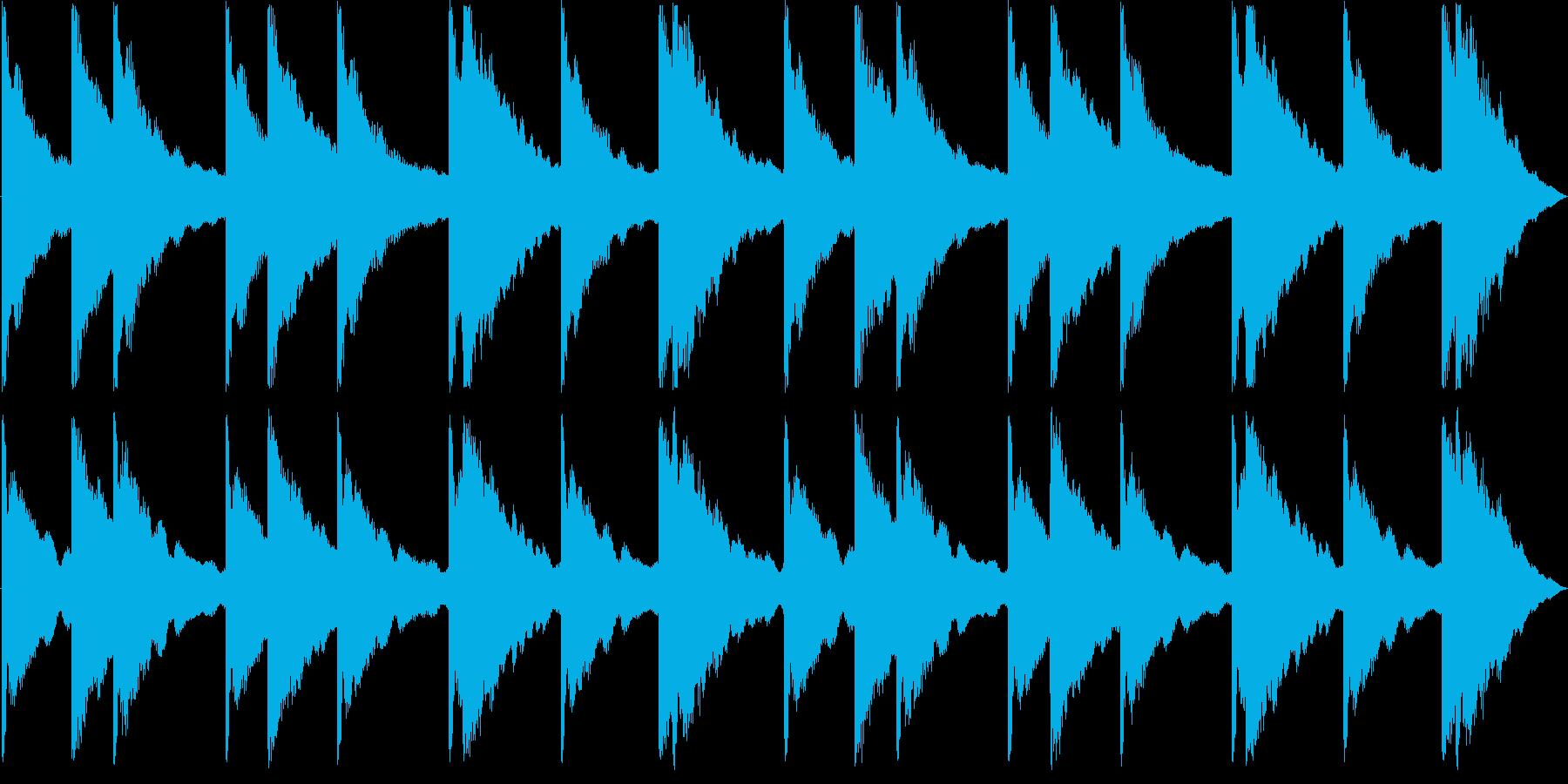 カーンカーンの再生済みの波形