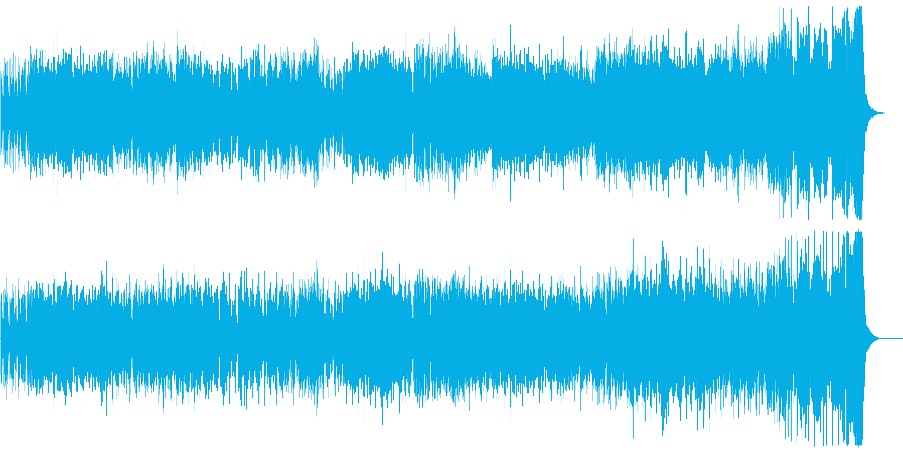 『ボレロ』ラヴェル  ショートVer.の再生済みの波形