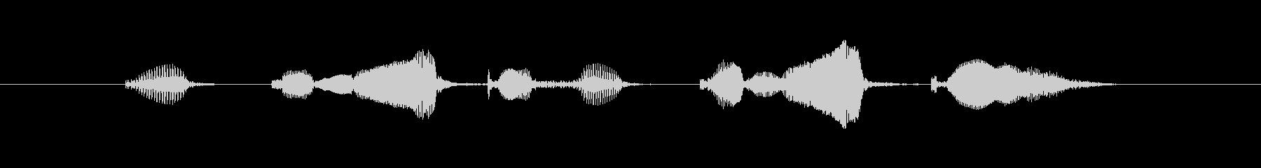 ブックマークブックマークの未再生の波形